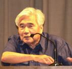 小田実さん(2004年7月、「九条の会」発足記念講演会で)