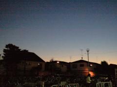 宵の明星(2011年12月11日 17時01分ごろ撮影)