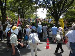 さようなら原発10万人集会(5)