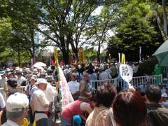 さようなら原発10万人集会(6)
