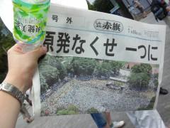 さようなら原発10万人集会(8)