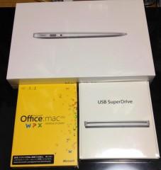 MacBookAir買いました!